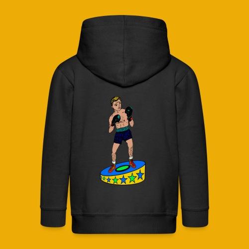 bokser t-shirt - Kinderen Premium jas met capuchon