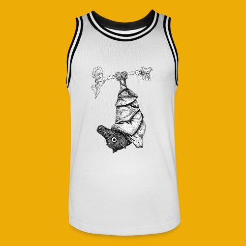 vleermuis - Mannen basketbal shirt