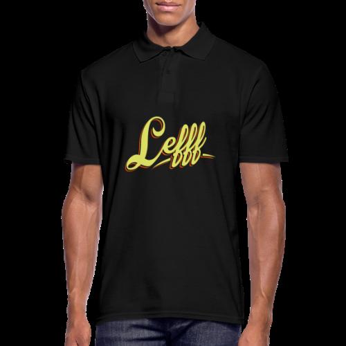 Lefff DGS Sprache - Männer Poloshirt