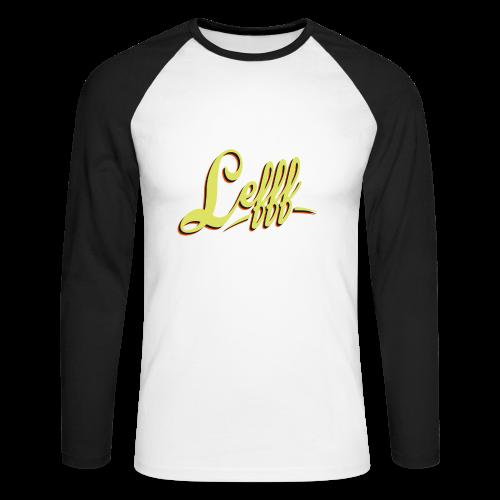 Lefff DGS Sprache - Männer Baseballshirt langarm