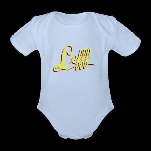 Lefff DGS Sprache - Baby Bio-Kurzarm-Body