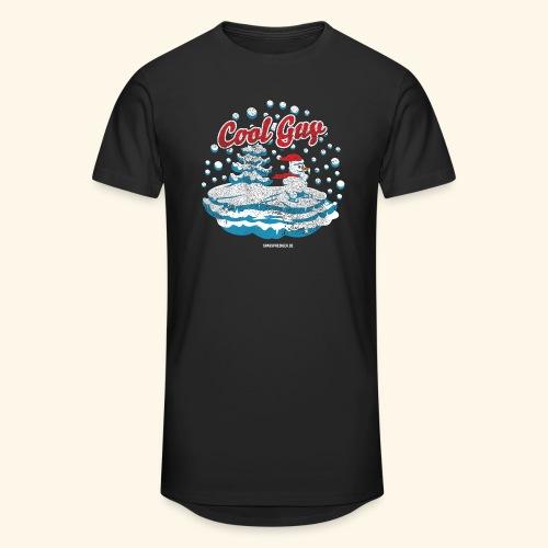 Apres Ski T Shirt cooler Schneemann beim Wintersport - Männer Urban Longshirt