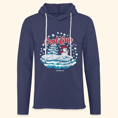 Apres Ski T Shirt cooler Schneemann beim Wintersport - Leichtes Kapuzensweatshirt Unisex