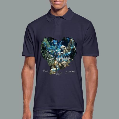 I`m offline - Männer Poloshirt