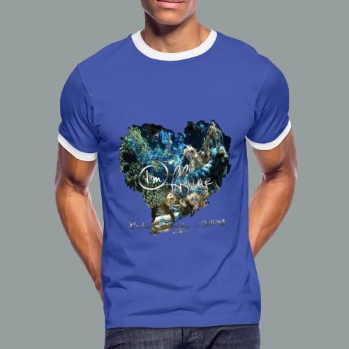 I`m offline - Männer Kontrast-T-Shirt