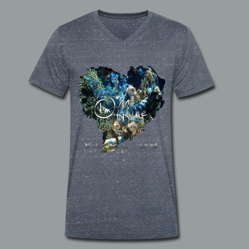 I`m offline - Männer Bio-T-Shirt mit V-Ausschnitt von Stanley & Stella
