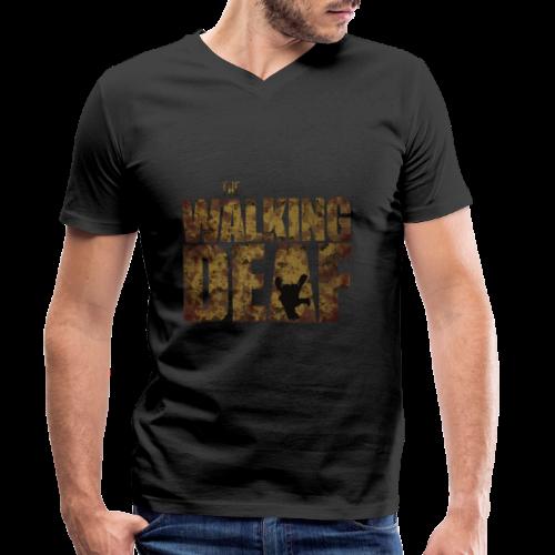 The Walking Deaf - Männer Bio-T-Shirt mit V-Ausschnitt von Stanley & Stella