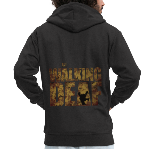 The Walking Deaf - Männer Premium Kapuzenjacke