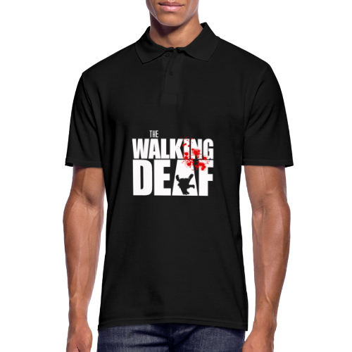 The Walking Deaf - Männer Poloshirt