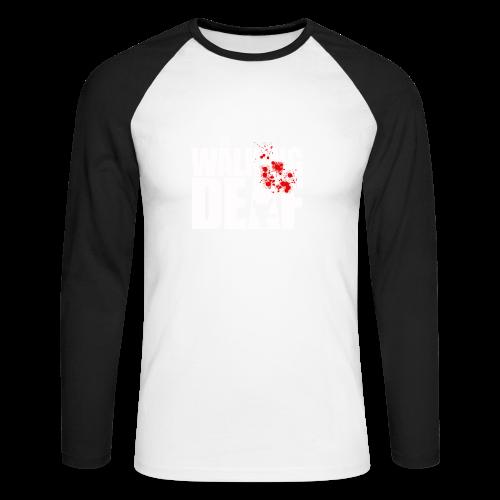 The Walking Deaf - Männer Baseballshirt langarm