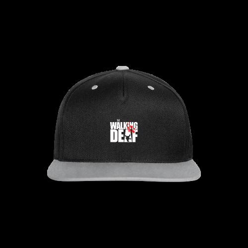 The Walking Deaf - Kontrast Snapback Cap