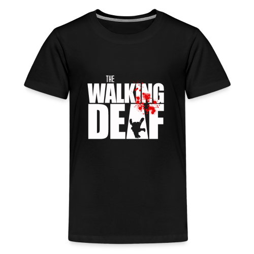 The Walking Deaf - Teenager Premium T-Shirt