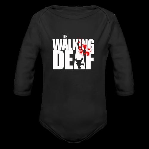 The Walking Deaf - Baby Bio-Langarm-Body