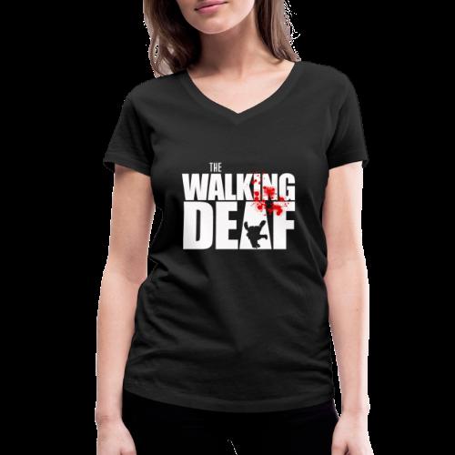 The Walking Deaf - Frauen Bio-T-Shirt mit V-Ausschnitt von Stanley & Stella