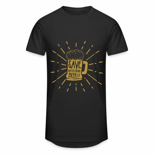 Save Water - Männer Urban Longshirt