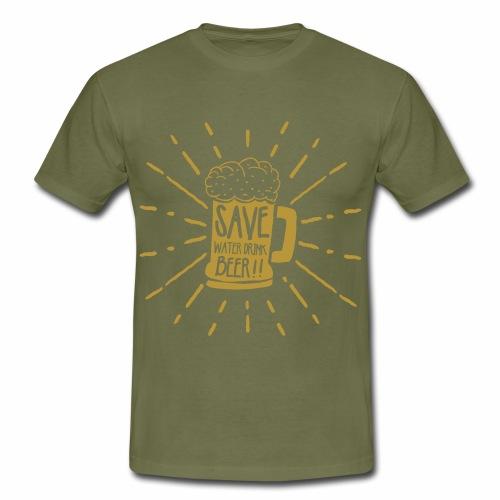 Save Water - Männer T-Shirt