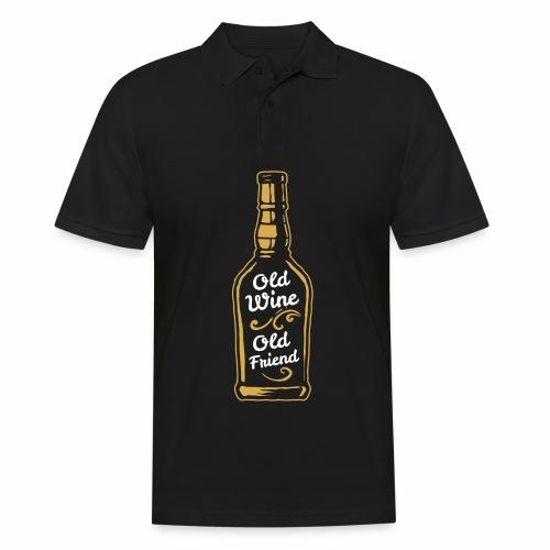 Old Wine - Männer Poloshirt