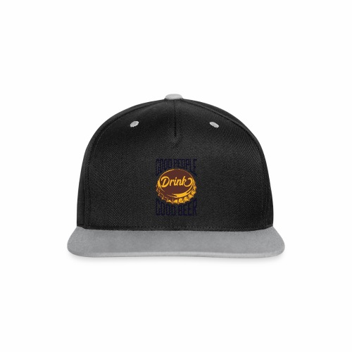 Good People - Kontrast Snapback Cap