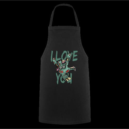 I love You Zombie - Kochschürze
