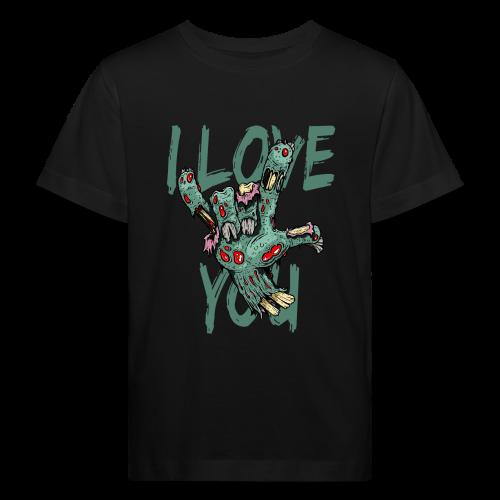 I love You Zombie - Kinder Bio-T-Shirt