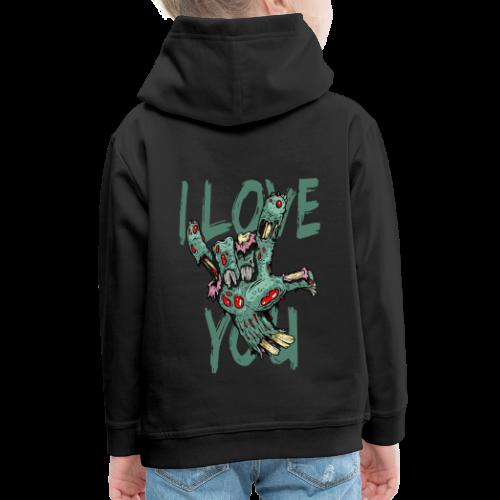 I love You Zombie - Kinder Premium Hoodie