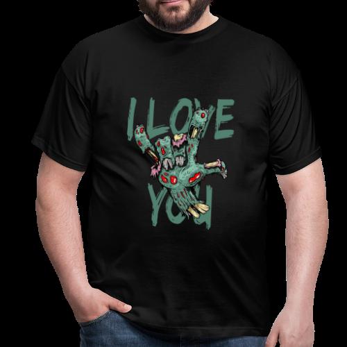 I love You Zombie - Männer T-Shirt
