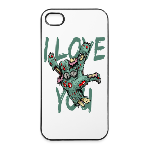 I love You Zombie - iPhone 4/4s Hard Case