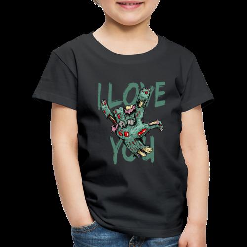 I love You Zombie - Kinder Premium T-Shirt