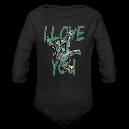 I love You Zombie - Baby Bio-Langarm-Body