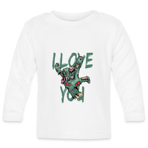 I love You Zombie - Baby Langarmshirt