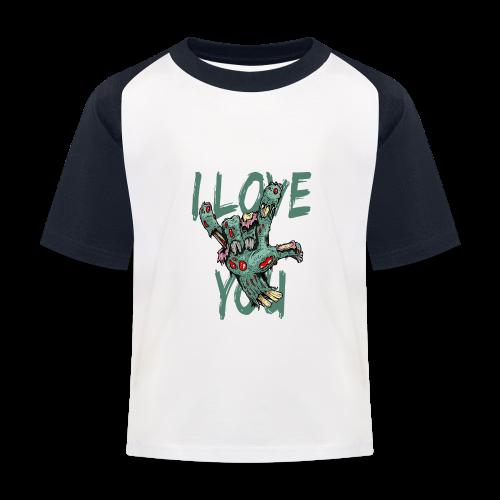 I love You Zombie - Kinder Baseball T-Shirt