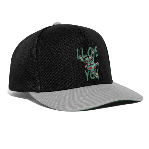 I love You Zombie - Snapback Cap