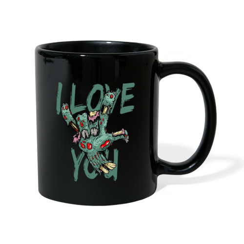 I love You Zombie - Tasse einfarbig