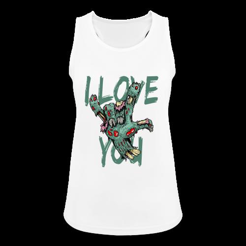 I love You Zombie - Frauen Tank Top atmungsaktiv
