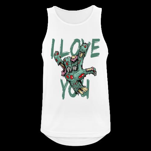 I love You Zombie - Männer Tank Top atmungsaktiv