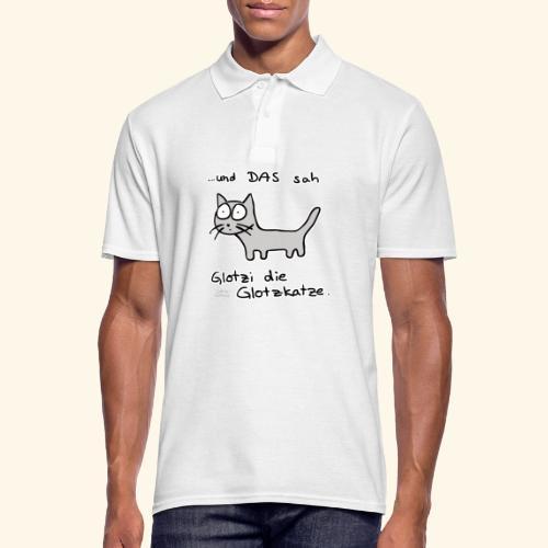 Glotzi sieht alles - Männer Poloshirt