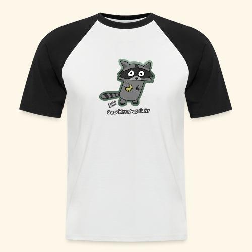 Geschirrabspülbär - Männer Baseball-T-Shirt