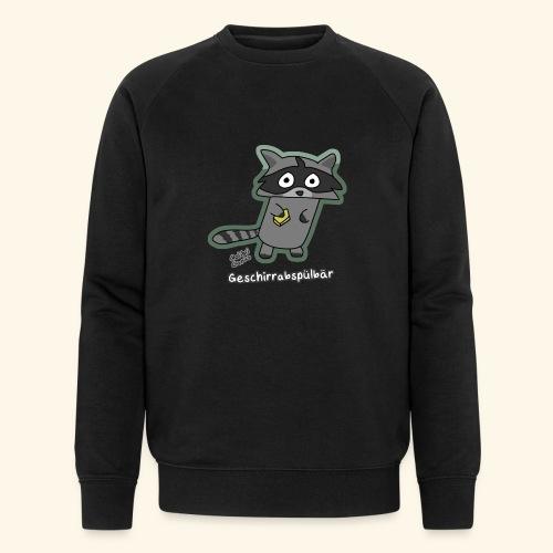 Geschirrabspülbär - Männer Bio-Sweatshirt von Stanley & Stella