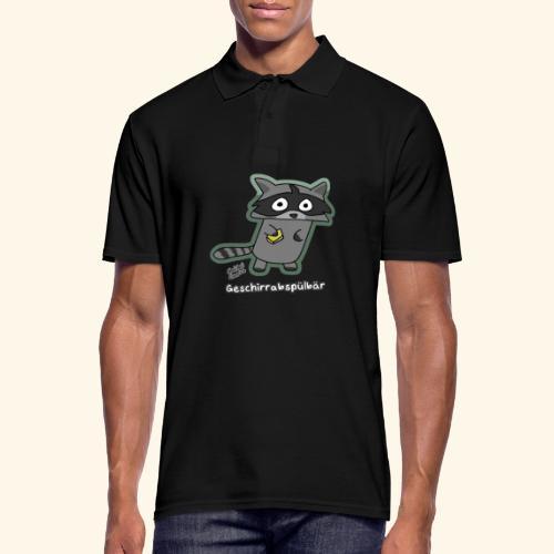 Geschirrabspülbär - Männer Poloshirt