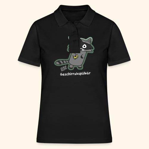 Geschirrabspülbär - Frauen Polo Shirt