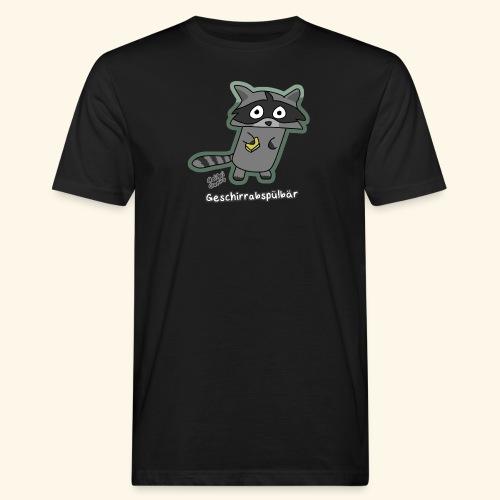 Geschirrabspülbär - Männer Bio-T-Shirt