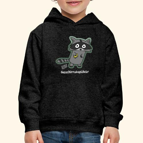 Geschirrabspülbär - Kinder Premium Hoodie
