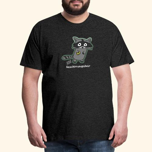 Geschirrabspülbär - Männer Premium T-Shirt