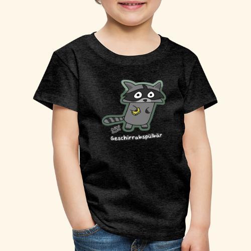 Geschirrabspülbär - Kinder Premium T-Shirt