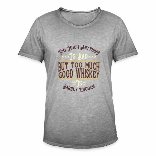 Good Whiskey - Männer Vintage T-Shirt