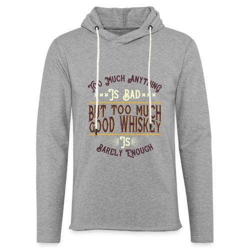 Good Whiskey - Leichtes Kapuzensweatshirt Unisex