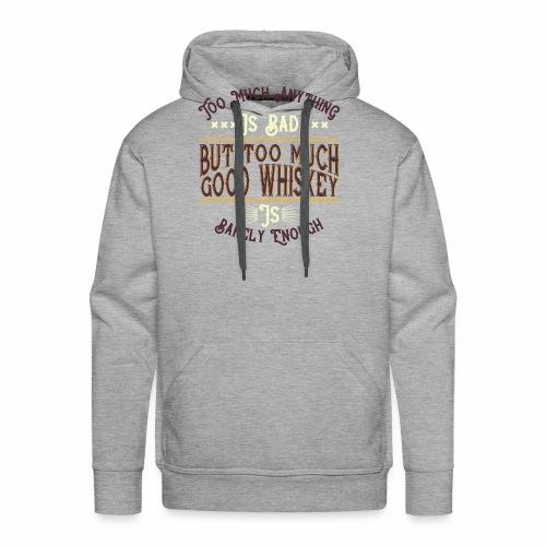 Good Whiskey - Männer Premium Hoodie