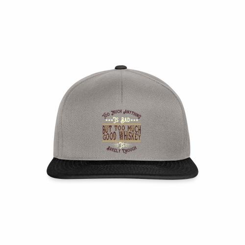 Good Whiskey - Snapback Cap