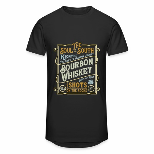 Bourbon Whiskey - Männer Urban Longshirt