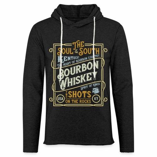 Bourbon Whiskey - Leichtes Kapuzensweatshirt Unisex
